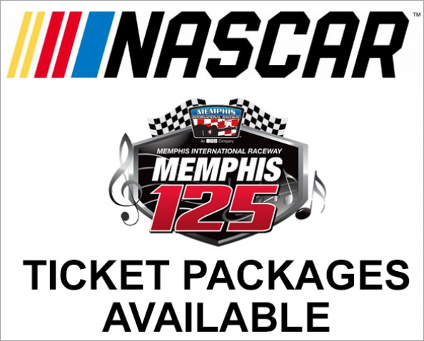 Ticket Packages Available for NASCAR Memphis 125