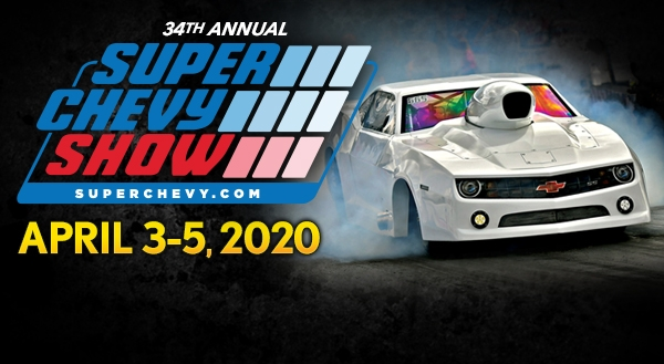 34th Annual Super Chevy Show at Memphis International Raceway is One Month Away